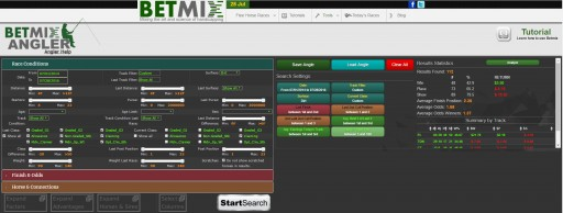 BetMix Angler™ - Big Data Technology Is Now Available for Horse Players Everywhere.