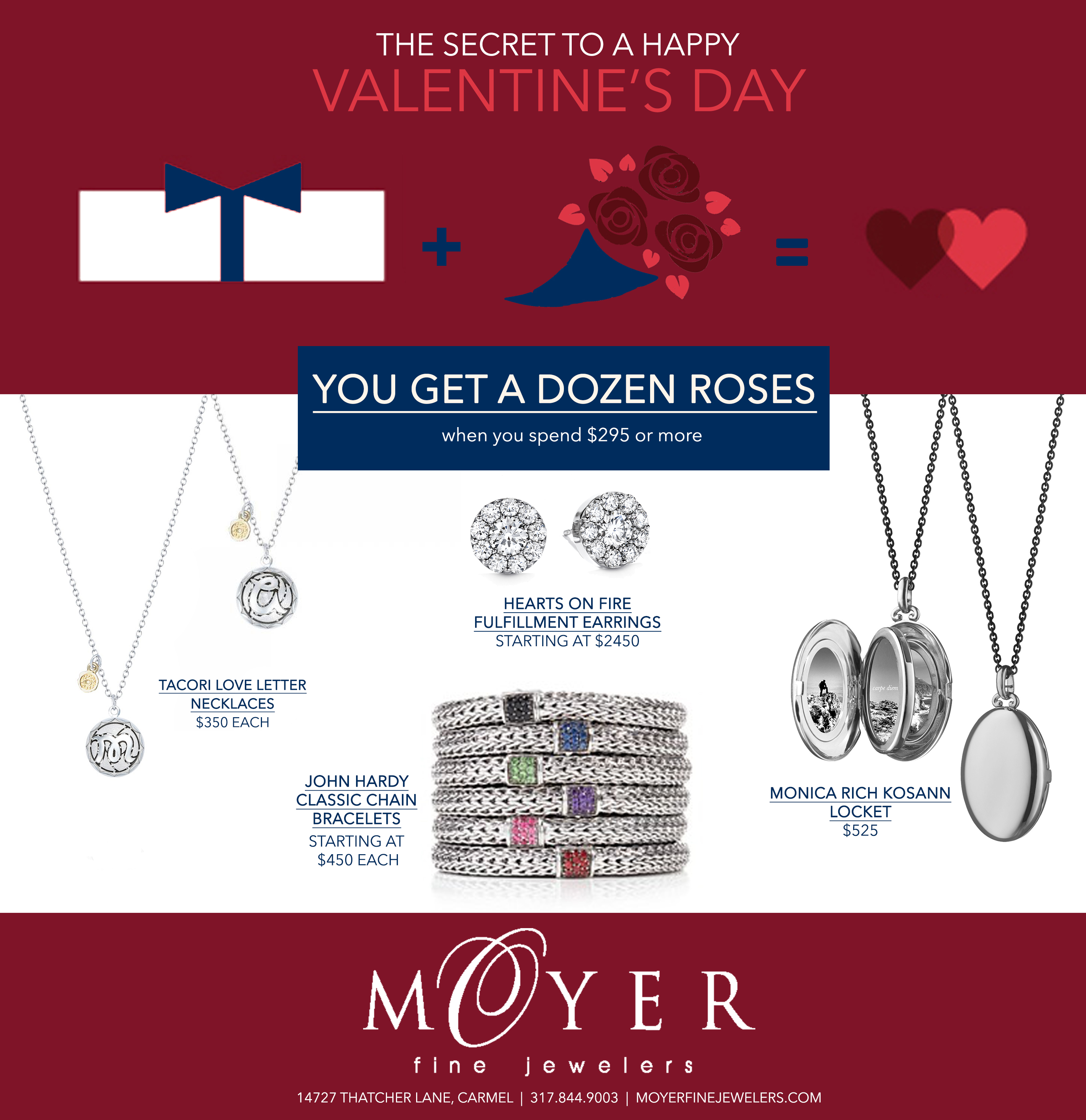 valentines day special at moyer fine jewelers located in carmel indiana