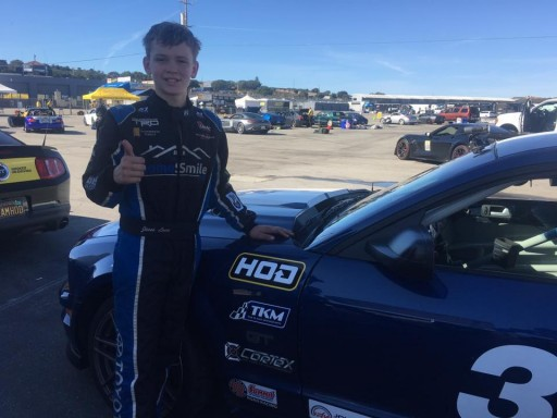 12-Year Old Racing Phenom Gets License to Thrill at Mazda Raceway