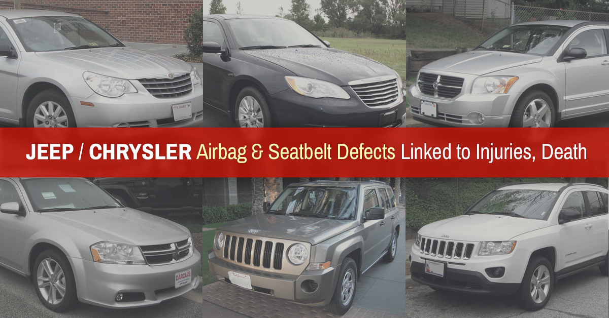 Three Deaths Prompt Chrysler To Recall M Chrysler Jeep And - Chrysler jeep and dodge