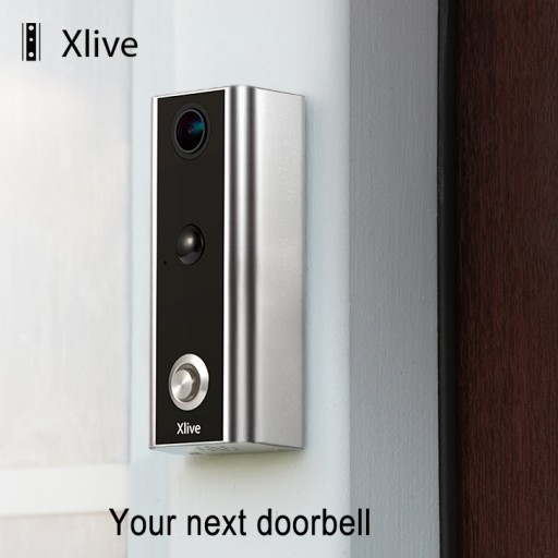 High-Tech Xlive™ Doorbell Protects People, Pets and Packages