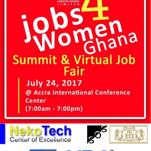 SOSJobs4Women to Host First National Virtual Workforce Job Fair in Ghana