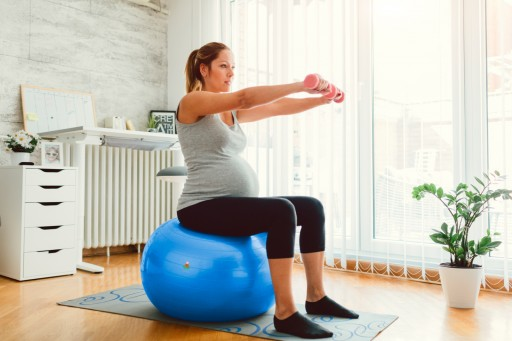 Exercise Ball for Pregnant Women? Lazy Monk Recommends It