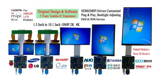 Game Changing HDMI to MIPI & LVDS to MIPI Converter Boards for Mobile LCD Displays.