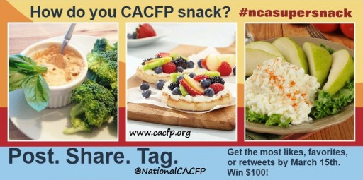 Getting Out of the Snack Rut: Child and Adult Care Food Program Sensational #NCASuperSnack Ideas