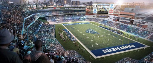 Georgia State Erases Turner Field and Welcomes Latest in FieldTurf Technology