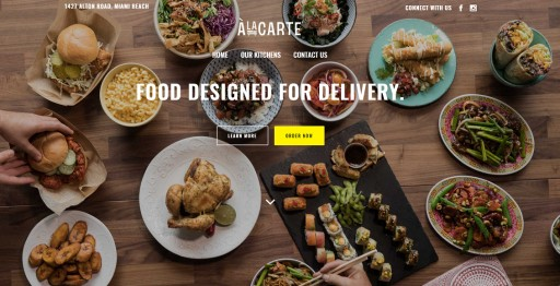 Alacarte Secures UberEats Partnership to Offer First Virtual Food Experience