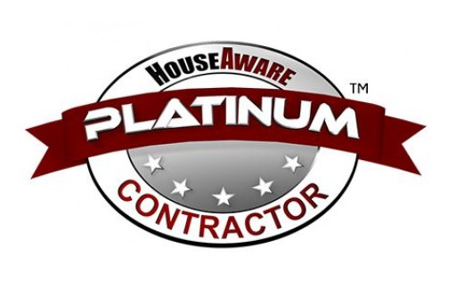 HouseAware Platinum Contractor Recognizes the Best of the Best for Home Improvement