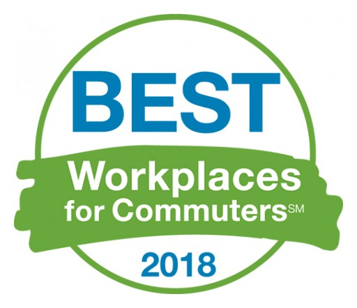 Over 200 Employers Named as the Best Workplaces for Commuters in 2018