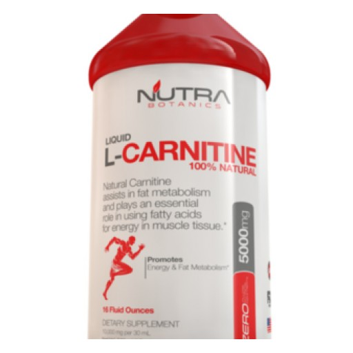 Nutra Botanics Liquid Carnitine 5000 is the Highest Strength on the Market for Maximum Effectiveness
