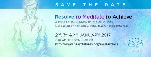 In the New Year RESOLVE … to MEDITATE … to ACHIEVE