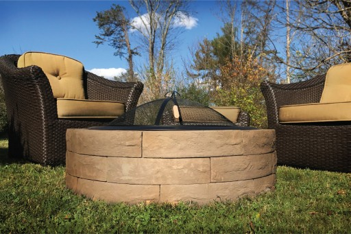 Fire Pit Kit Adds Warmth to Any Gathering