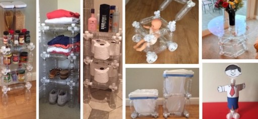 Simple, Crazy Redesign to Plastic Bottles Can Turn Them Into Useful Household Items