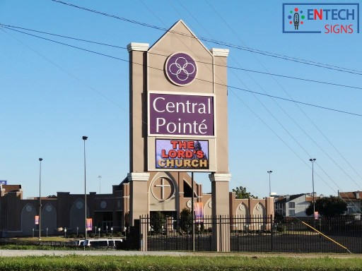 Central Pointé Church Spreads the Word With Cloud-Based LED Sign