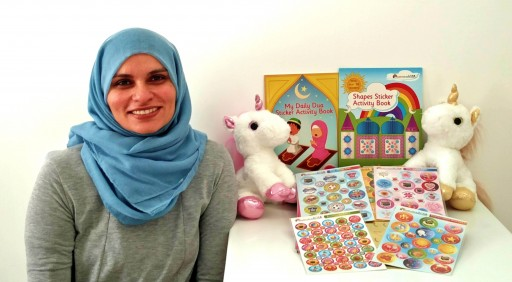 Female Muslim Entrepreneur Launches the Positive Parenting Collection