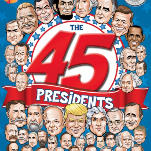 """The 45 Presidents"" Activity Book is Honored With Silver IPPY and Homeschool.com Summer Resource Awards"